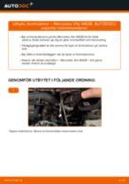 Hur byter man och justera Lagring Hjullagerhus MERCEDES-BENZ VITO: pdf instruktioner