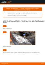 PDF Manual för reparation av reservdelar bil: AYGO (WNB1_, KGB1_)