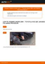 Bilmekanikers rekommendationer om att byta TOYOTA Toyota Aygo ab1 1.4 HDi Multirem