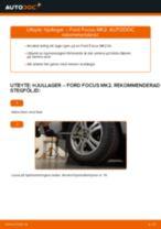PDF guide för byta: Hjullagersats FORD Focus II Sedan (DB_, FCH, DH) bak och fram