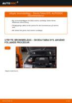 Laga Bromsbeläggssats skivbroms: pdf instruktioner för SKODA FABIA
