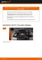 Laga Stötdämparfäste: pdf instruktioner för SKODA FABIA