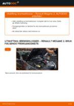 PDF med trinn for trinn-veiledning for bytte av KIA Sorento jc Bremsecaliper Reparasjonssett
