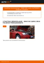 BMW 3-serie feilsøkingsmanual