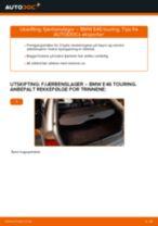 Slik bytter du fjærbenslager bak på en BMW E46 touring – veiledning