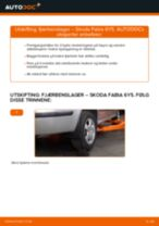Skifte Støtdemperlager SKODA FABIA: gratis pdf