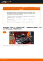 Jak wymienić tarcze hamulcowe przód w BMW E46 cabrio - poradnik naprawy