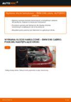 Jak wymienić klocki hamulcowe tył w BMW E46 cabrio - poradnik naprawy