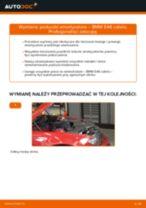 Jak wymienić poduszka amortyzatora przód w BMW E46 cabrio - poradnik naprawy