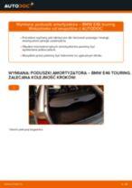 Jak wymienić poduszka amortyzatora tył w BMW E46 touring - poradnik naprawy