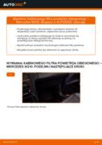 Instrukcja obsługi i naprawy MERCEDES-BENZ Klasa E