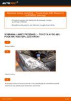 Kiedy wymienić Uszczelki tłoczka hamulcowego TOYOTA AYGO (WNB1_, KGB1_): pdf poradnik