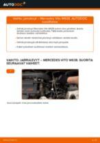 Automekaanikon suositukset MERCEDES-BENZ Mercedes W638 Bussi 108 CDI 2.2 (638.194) -auton Pyyhkijänsulat-osien vaihdosta