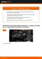 Instrukcja warsztatu dla Honda Accord 7 Tourer
