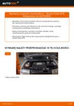 Jak wymienić poduszka amortyzatora przód w Skoda Fabia 6Y5 - poradnik naprawy