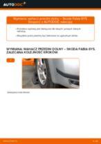 Jak wymienić wahacz przedni dolny w Skoda Fabia 6Y5 - poradnik naprawy