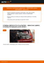 Výmena Brzdové Platničky BMW 3 SERIES: dielenská príručka