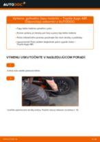 Vymeniť Čap riadenia TOYOTA AYGO: zadarmo pdf
