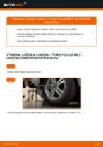 Ako vymeniť zadné ložisko kolesa na Ford Focus MK2 – návod na výmenu