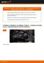 Odporúčania od automechanikov k výmene HONDA Honda Accord VIII CU 2.2 i-DTEC (CU3) Olejový filter