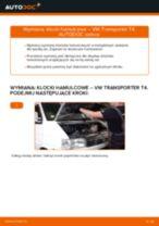 Jak wymienić klocki hamulcowe przód w VW Transporter T4 - poradnik naprawy