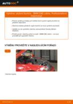 Podrobné PDF tutoriály, jak vyměnit Držák Brzdového Třmenu na autě BMW 3 Convertible (E46)