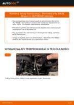 Instrukcja samodzielnej wymiany Zestaw klocków hamulcowych w MERCEDES-BENZ VITO Bus (638)
