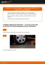 Naučte se jak opravit problémy s zadní a přední Brzdové Destičky TOYOTA