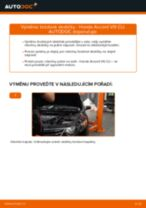 Doporučení od automechaniků k výměně HONDA Honda Accord VIII CU 2.2 i-DTEC (CU3) Uložení Tlumičů