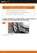 Jak vyměnit a regulovat Guma stabilizátoru : zdarma průvodce pdf
