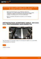 Εγχειριδιο MERCEDES-BENZ pdf