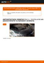 Αντικατάσταση Καπό CHRYSLER μόνοι σας - online εγχειρίδια pdf