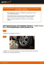 Πώς να αλλάξετε ρουλεμάν τροχού πίσω σε Ford Focus MK2 - Οδηγίες αντικατάστασης
