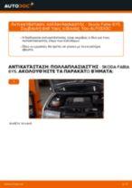 Εγχειρίδιο PDF στη συντήρηση FABIA