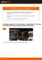 Mercedes Vito Tourer príručka údržba a opravy