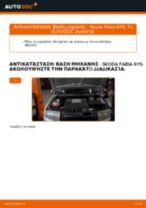 Αλλαγή Βάσεις στήριξης κινητήρα SKODA FABIA: δωρεάν pdf