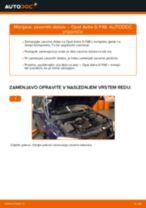 Priročnik PDF o vzdrževanju ASTRA