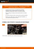 Návod na obsluhu MERCEDES-BENZ VITO - Manuál PDF