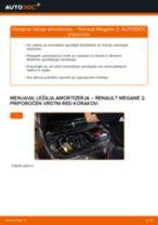 Navodila po korakih za popravilo Renault Megane 2 Sport Tourer