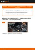 Priročnik PDF o vzdrževanju MEGANE