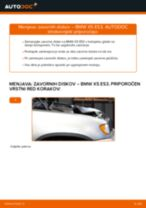 DIY-priročnik za zamenjavo Aksialni Zgib Jarmski Drog v BMW X5 (E53)