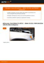 Kako zamenjati avtodel zavorne ploščice spredaj na avtu BMW X5 E53 – vodnik menjave