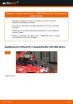 Kako zamenjati avtodel ležaj amortizerja spredaj na avtu BMW E46 cabrio – vodnik menjave