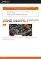 PDF manual sobre manutenção de ASTRA
