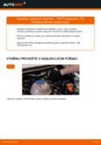 Jak vyměnit zadní brzdové destičky na VW Transporter T4 – návod k výměně