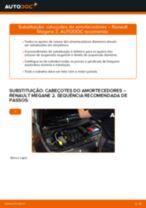 PDF manual sobre manutenção de MEGANE