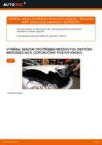 Jak vyměnit a regulovat Indikator opotrebeni : zdarma průvodce pdf