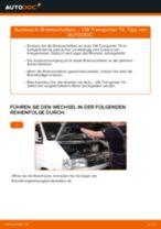 VW TRANSPORTER IV Bus (70XB, 70XC, 7DB, 7DW) Bremszange ersetzen - Tipps und Tricks