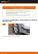 SKODA FABIA Combi (6Y5) Getriebehalter: Online-Anweisung zum selbstständigen Ersetzen