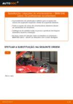 Instalação Suporte de apoio do conjunto mola amortecedor BMW 3 Convertible (E46) - tutorial passo-a-passo